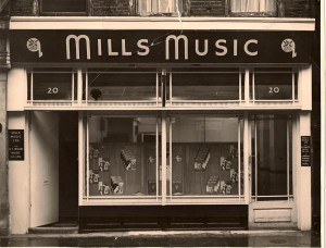 Number 20 - Mills Music where Elton aka Reg Dwight worked as a Tea Boy in 1965